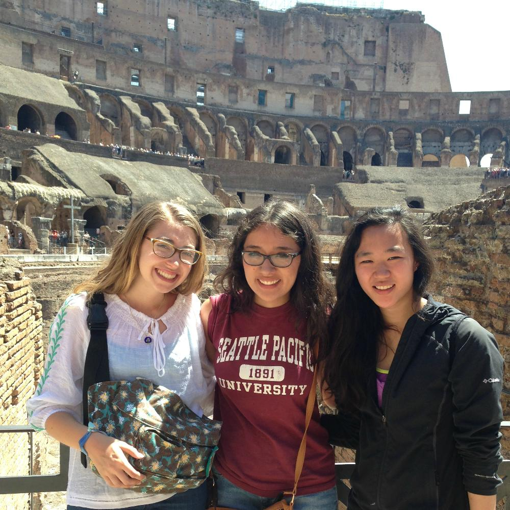 Rome 2015 students