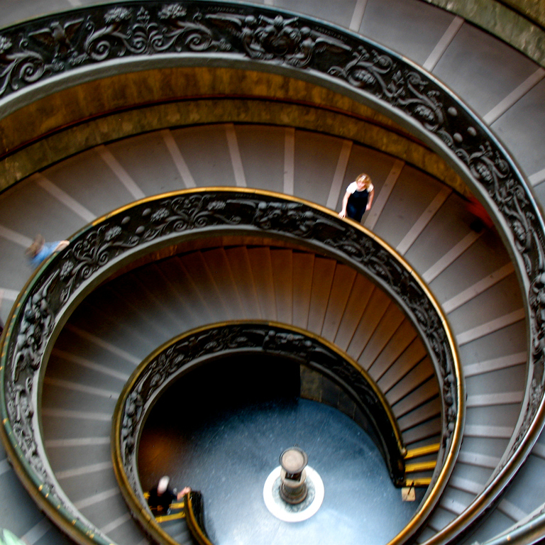 vatican stairs square