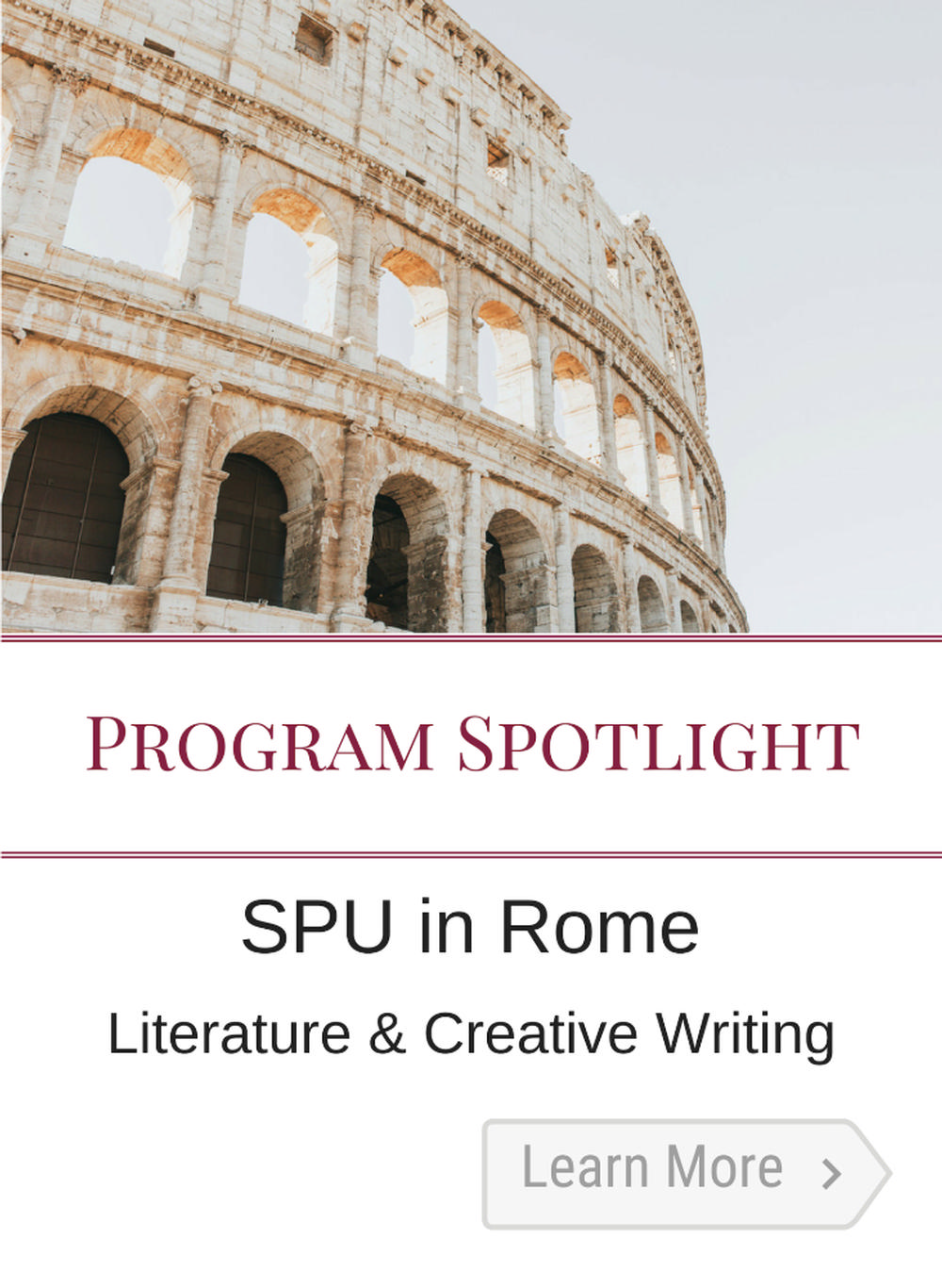 Program Spotlight Rome